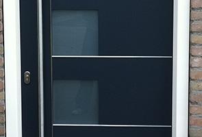 Goede Hardhouten voordeuren, binnen- en buitendeuren en garagepoorten WP-35
